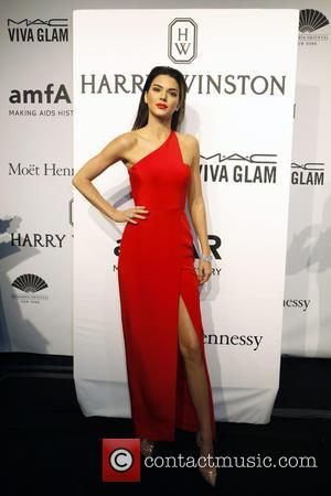Kendall jenner - A host of stars were snapped as they arrived for the 2015 amfAR (The Foundation for AIDS...
