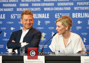 Kenneth Branagh and Cate Blanchett - A host of stars were photographed as they attended a press conference at the...