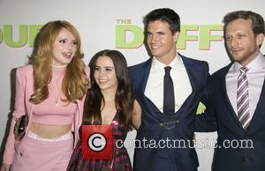 Bella Thorne, Mae Whitman, Robbie Amell and Ari Sandel - Celebrities attend  Los Angeles fan screening of THE DUFF...