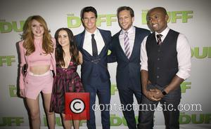 Bella Thorne, Mae Whitman, Robbie Amell, Ari Sandel and Romany Malco - Celebrities attend  Los Angeles fan screening of...