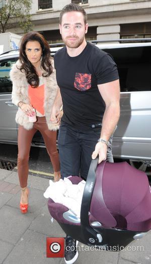 Kieran Hayler and Katie Price - Katie Price and Kieran Hayler out and about in London - London, United Kingdom...