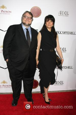 Guillermo Del Toro and Lorenza Newton - Make-Up Artists & Hair Stylists Guild Awards - Arrivals at Paramount Theater, Paramount...