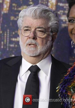 George Lucas - A host of stars including previous cast members were snapped as they arrived  to the Rockerfeller...