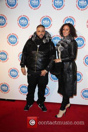DJ Khaled and Nicole Tuck - The National Basketball Players Association's Exclusive 2015 All-Star Player's Social Event Presented By BET...