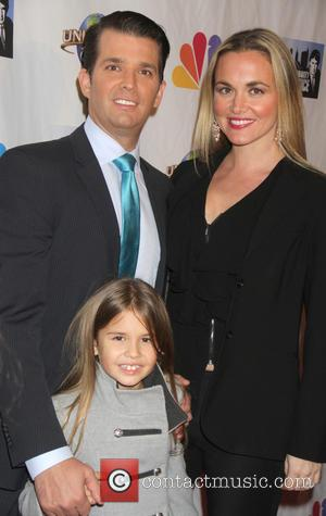 Don Trump Jr., Vanessa Haydon and Kai Trump - The Celebrity Apprentice Finale held at Trump Tower - Arrivals at...