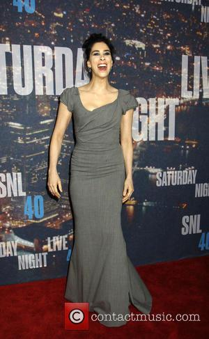 sarah Silverman - Saturday Night Live 40th Anniversary - Arrivals at Saturday Night Live - New York, New York, United...