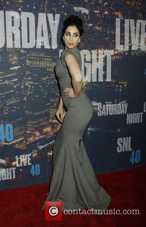Sarah Silverman - Saturday Night Live 40th Anniversary - Arrivals at Saturday Night Live - New York, New York, United...
