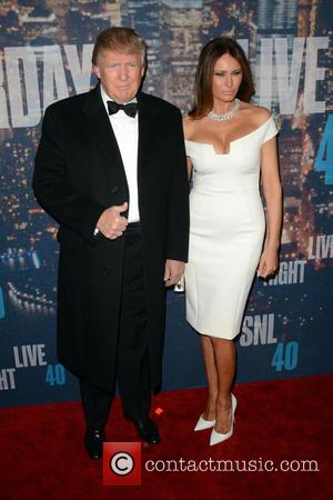 Donald Trump and Melania Knauss-Trump - A host of stars including previous cast members were snapped as they arrived...