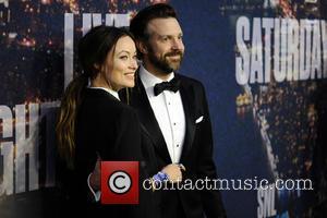 Olivia Wilde and Jason Sudeikis - SATURDAY NIGHT LIVE 40TH Anniversary Special - Red Carpet Arrivals - Manhattan, New York,...