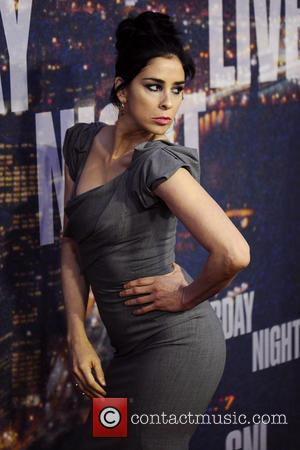 Sarah Silverman - SATURDAY NIGHT LIVE 40TH Anniversary Special - Red Carpet Arrivals - Manhattan, New York, United States -...