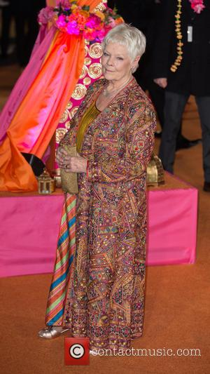 Dame Judi Dench - The CTBF Royal Performance and World Premiere of The Second Best Exotic Marigold Hotel attended by...