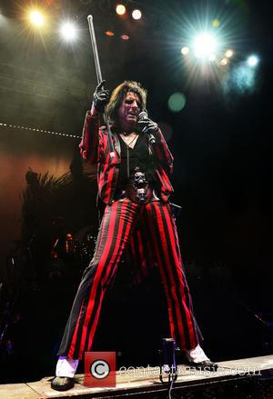 Alice Cooper - Shots of rock legend Alice Cooper as he performed live on stage at Hard Rock Live in...