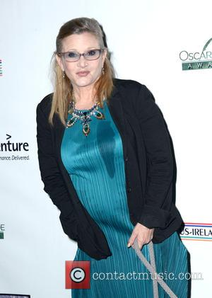 Carrie Fisher - US-Ireland Alliance pre Oscar event honoring Stephen Colbert, Carrie Fisher and Colin Davidson held at Bad Robot...