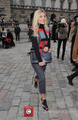 Mollie King - London Fashion Week A/W 2015 - DAKS - Arrivals & Departures at London Fashion Week - London,...