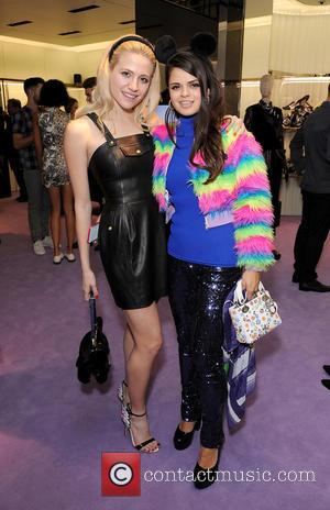Pixie Lott and Bip Ling - Guests at the event dressed in Prada included: Jessie Ware, Joanna Vanderham, Mr Hudson,...