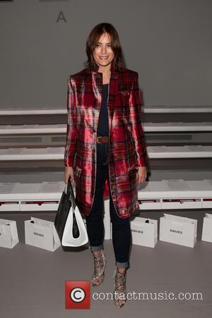 Yasmin Le Bon - London Fashion Week Autumn/Winter 2015 - Bora Asku - Front Row at London Fashion Week -...