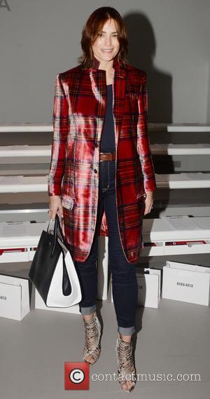Yasmin LeBon - London Fashion Week Autumn/Winter 2015 - Bora Asku - Front Row at London Fashion Week - London,...