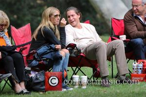 Heidi Klum and Vito Schnabel - Heidi Klum and her boyfriend Vito Schnabel take Klum's kids Henry, Johan and Helene...