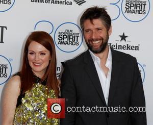 Julianne Moore and director Bart Freundlich - 2015 Film Independent Spirit Awards - Arrivals at Independent Spirit Awards - Hollywood,...