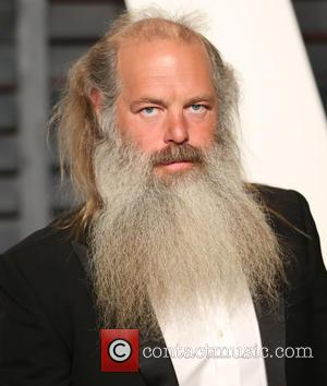 Rick Rubin - A host of stars were photographed as they attended the Vanity Fair Oscar Party which was held...
