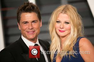 Rob Lowe and Sheryl Berkoff - A host of stars were photographed as they attended the Vanity Fair Oscar Party...