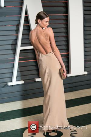 Behati Prinsloo - Celebrities attend 2015 Vanity Fair Oscar Party at Wallis Annenberg Center for the Performing Arts with City...