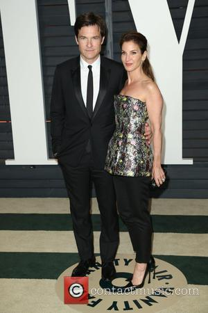 Jason Bateman and Amanda Anka - The 87th Annual Oscars - Vanity Fair Oscar Party at Wallis Annenberg Center for...