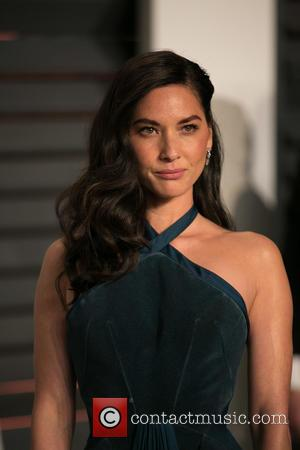 Olivia Munn - Celebrities attend 2015 Vanity Fair Oscar Party at Wallis Annenberg Center for the Performing Arts with City...