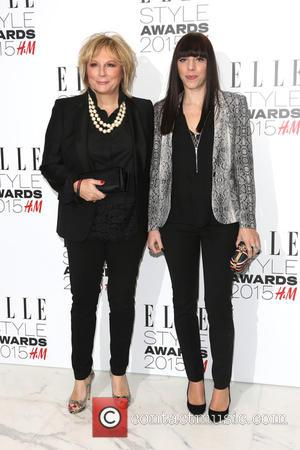 Jennifer Saunders and Ella Edmondson - A host of celebrities were photographed as they arrived at the ELLE Style Awards...