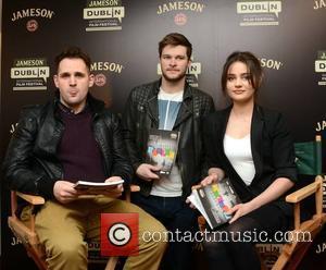 Gerard Barrett, Jack Reynor and Aisling Franciosi
