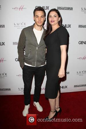 Jodi Lyn O'Keefe and Chris Wood - A host of stars were photographed as they attended the Genlux Issue Release...