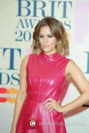 Caroline Flack - A variety of stars from the music industry were photographed as they arrived at the Brit Awards...