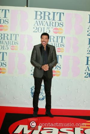 Lionel Richie - A variety of stars from the music industry were photographed as they arrived at the Brit Awards...