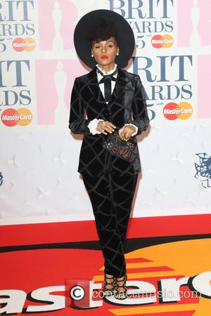 Janelle Monae - The Brit Awards 2015 at the O2 Arena - Arrivals at O2 Arena, The Brit Awards -...