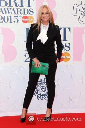 Emma Bunton - A variety of stars from the music industry were photographed as they arrived at the Brit Awards...