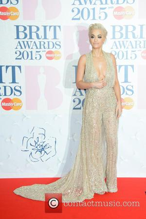 Rita Ora - A variety of stars from the music industry were photographed as they arrived at the Brit Awards...