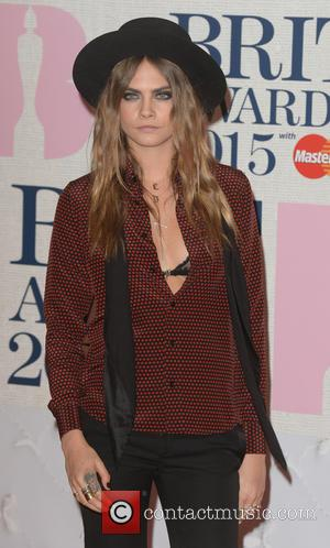Cara Delevingne - BRIT Awards 2015 at the O2 Arena - Red Carpet Arrivals - London, United Kingdom - Wednesday...