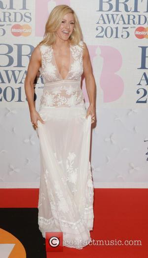 Ellie Goulding - BRIT Awards 2015 at the O2 Arena - Red Carpet Arrivals - London, United Kingdom - Wednesday...
