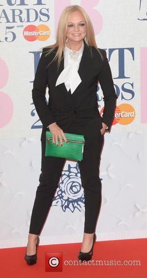 Emma Bunton - BRIT Awards 2015 at the O2 Arena - Red Carpet Arrivals - London, United Kingdom - Wednesday...