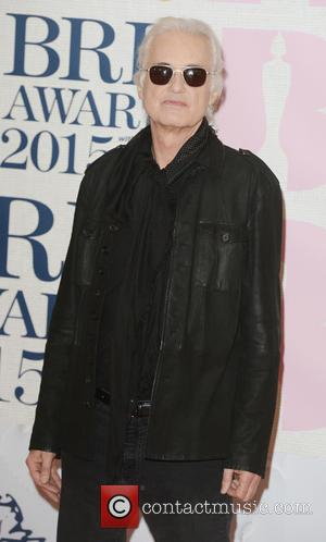 Jimmy Page - BRIT Awards 2015 at the O2 Arena - Red Carpet Arrivals - London, United Kingdom - Wednesday...