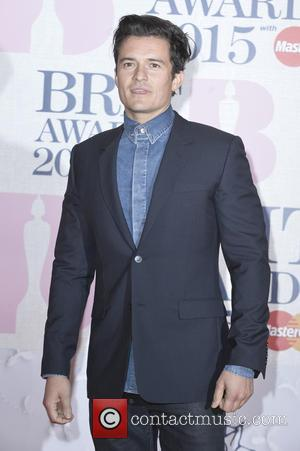 Orlando Bloom - A variety of stars from the music industry were photographed as they arrived at the Brit Awards...
