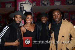 Gabrielle Union and Rough Copy - Screening party for BET's 'Being Mary Jane' starring Gabrielle Union - London, United Kingdom...
