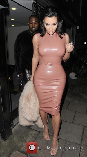 Kim Kardashian and Kanye West - American reality TV star Kim Kardashian along with her husband, rapper Kanye West were...