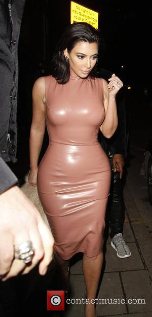 Kim Kardashian - American reality TV star Kim Kardashian along with her husband, rapper Kanye West were spotted as they...