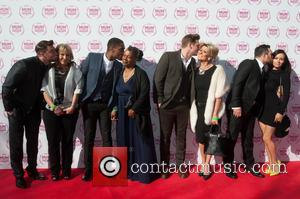Blue - The10th anniversary year of theTesco Mum of the Year Awards 2015 held at The Savoy - Arrivals. -...
