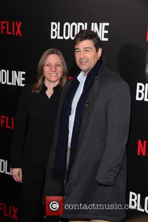 Cindy Holland and Kyle Chandler