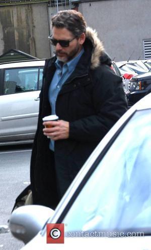 Eric Bana - Actor Eric Bana spotted arriving on set of Jim Sheridan movie 'The Secret Scripture', Dublin, Ireland -...
