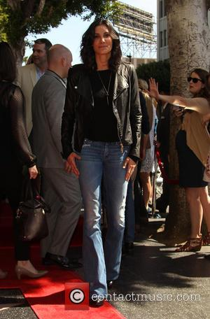 Daniela Ruah - Shots of American actor Chris O'Donnell as he was honored with a star on the Hollywood Walk...