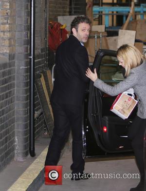 Michael Sheen - Michael Sheen outside ITV Studios - London, United Kingdom - Monday 9th March 2015