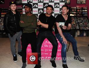 Blue, Antony Costa, Simon Webbe, Duncan James and Lee Ryan